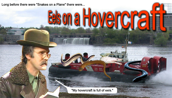 Eels on a Hovercraft